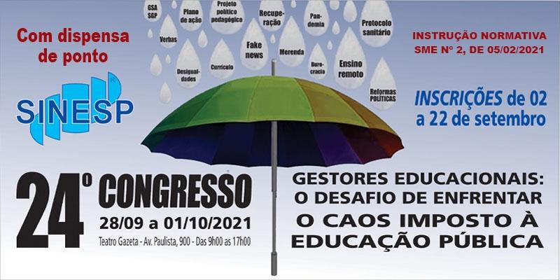 24º Congresso do SINESP - Conferência final