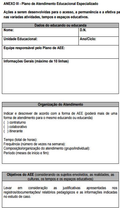 Modelo de registro de aula